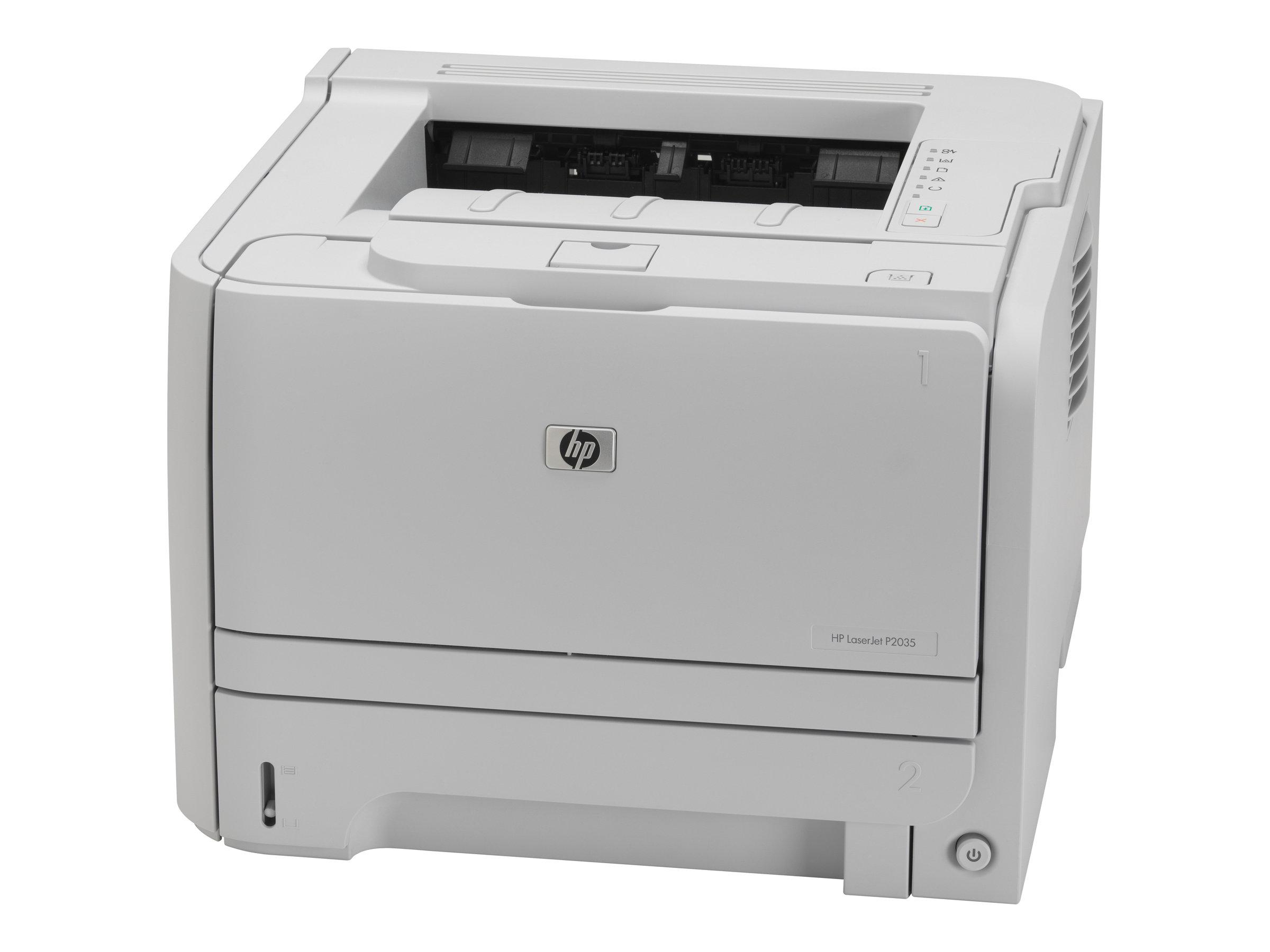 hp laserjet p2035 imprimante monochrome laser imprimantes laser neuves. Black Bedroom Furniture Sets. Home Design Ideas