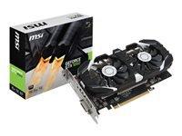 MSI GTX 1050 2GT OC Grafikkort NVIDIA GeForce GTX 1050 2 GB GDDR5