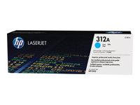 HP 312A Cyan LaserJet Toner Cartridge, HP 312A Cyan LaserJet Ton