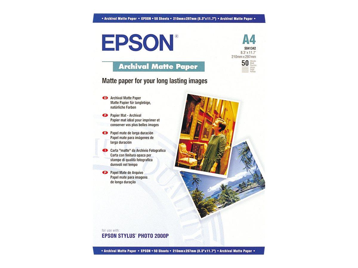 Epson Archival Matte Paper - papier - 50 feuille(s)