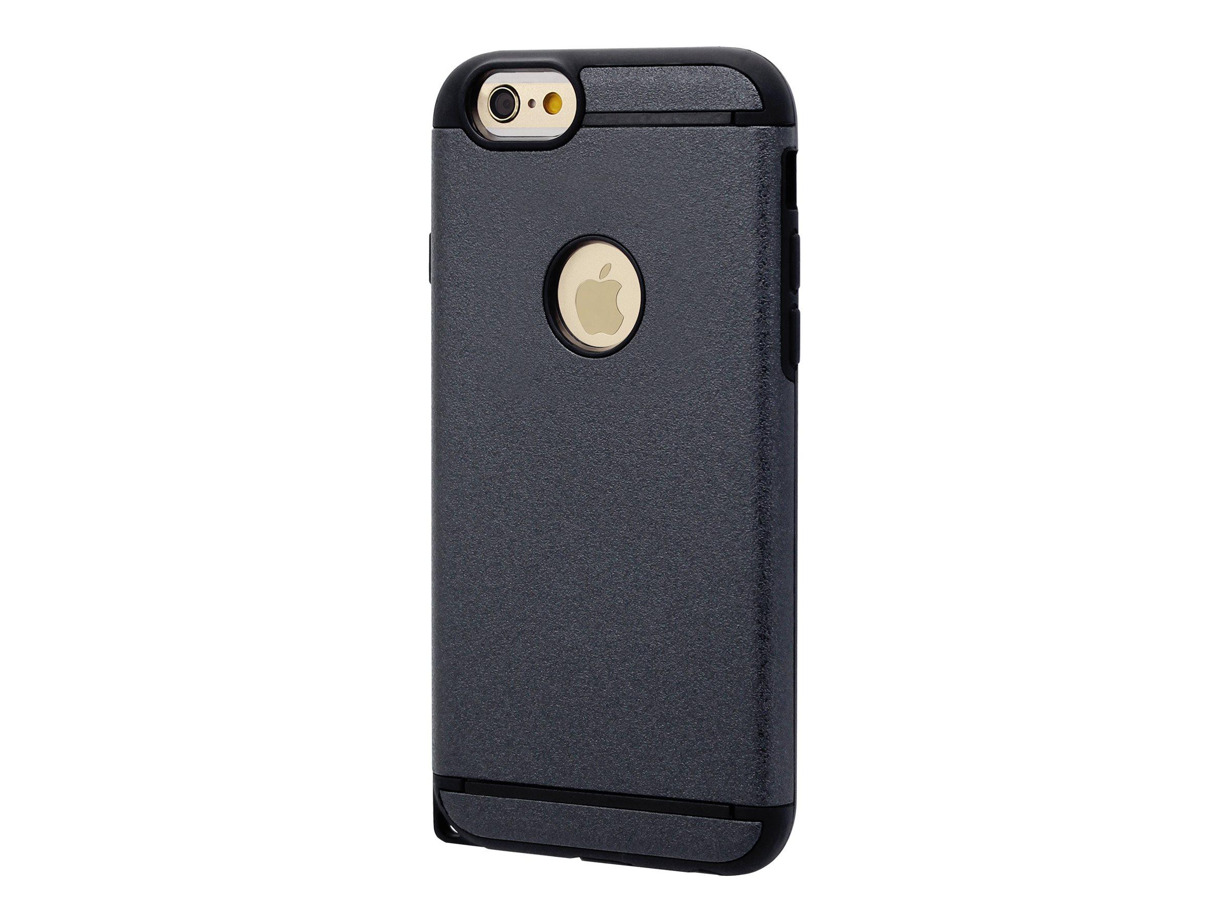 muvit coque de protection pour iphone 6 plus 6s plus noir etuis iphone. Black Bedroom Furniture Sets. Home Design Ideas