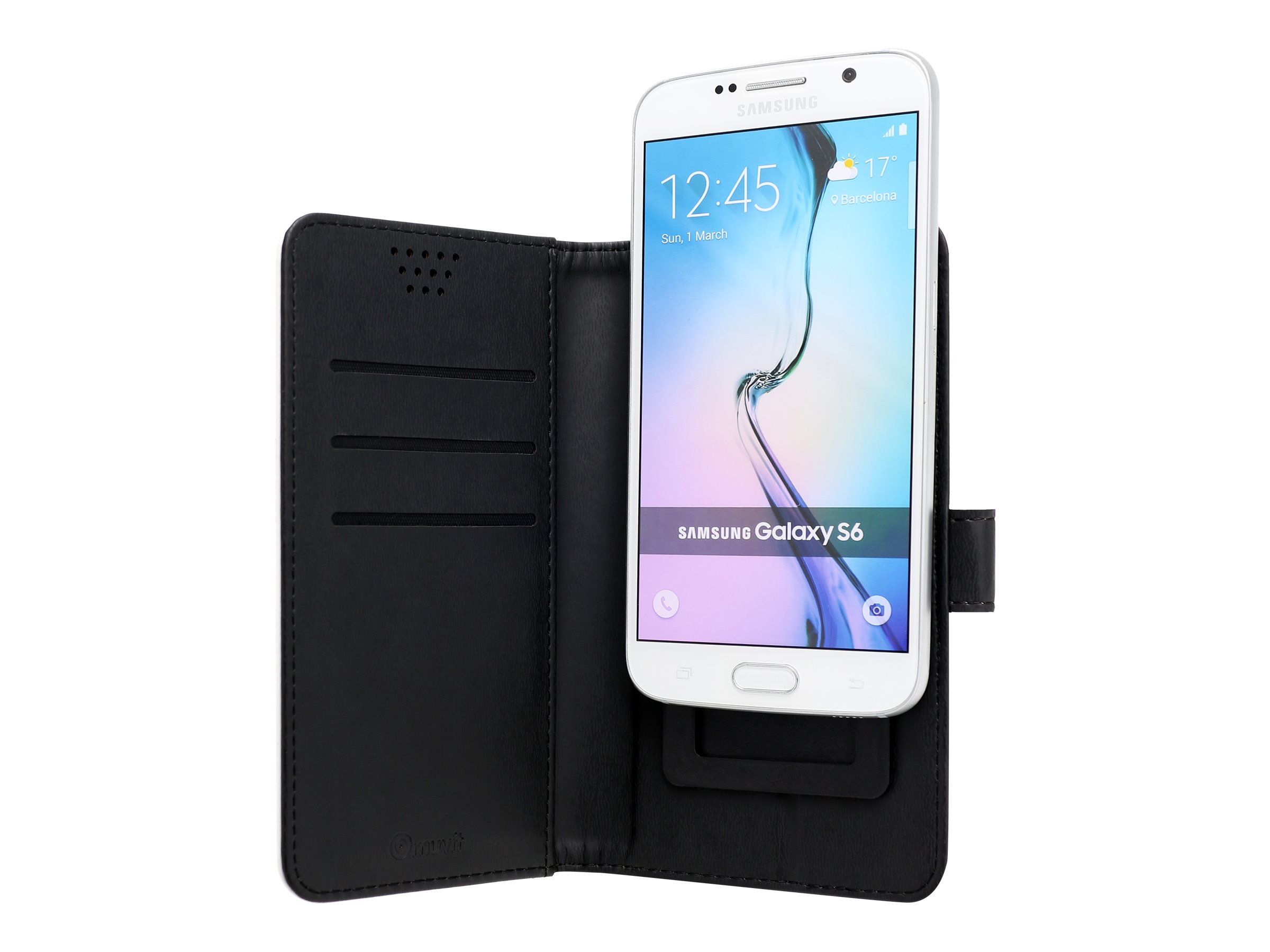 Muvit Universal Slider Case protection à rabat pour téléphone portable