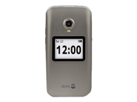 Doro 2424 Mobiltelefon GSM 320 x 240 pixels 3 MP sølv, champagne