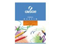 CANSON - Cahier de dessin - 17 x 22 cm- 16 pages
