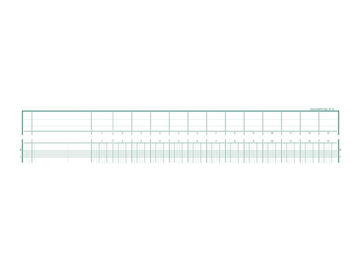 Exacompta TP13 - piqûre comptable à tête paresseuse
