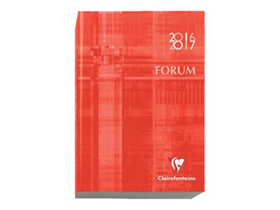 Clairefontaine Forum Metric - agenda