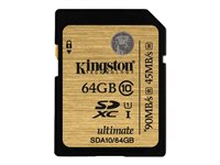 KINGSTON, Secure Digital/64GB SDHC Class10 Ultimat