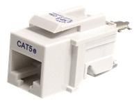 StarTech.com Cat5e Modular Keystone Jack White