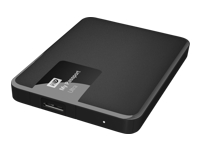 WD My Passport Ultra WDBGPU0010BBK - disque dur - 1 To - USB 3.0