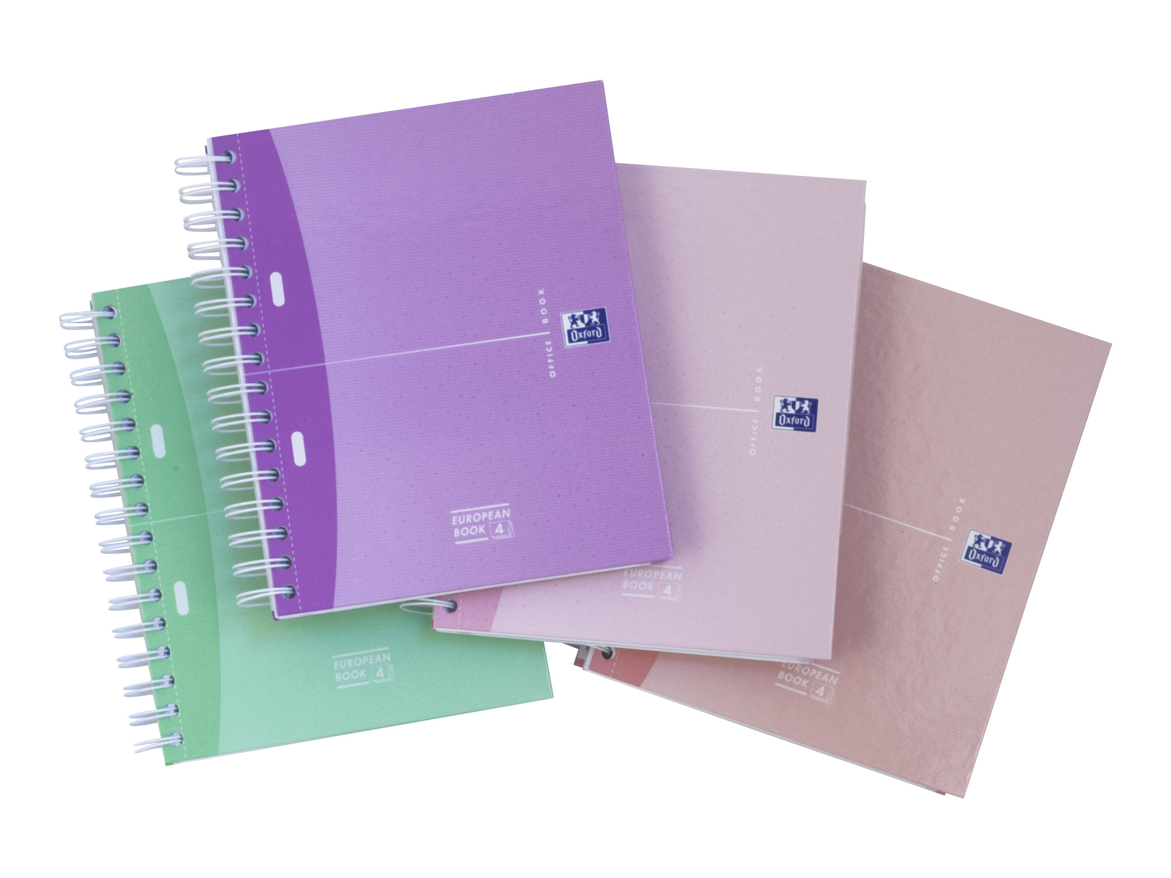 Oxford Office Beauty Europeanbook - A5+ - Cahier - 17 x 22 - 200 pages - Petits carreaux
