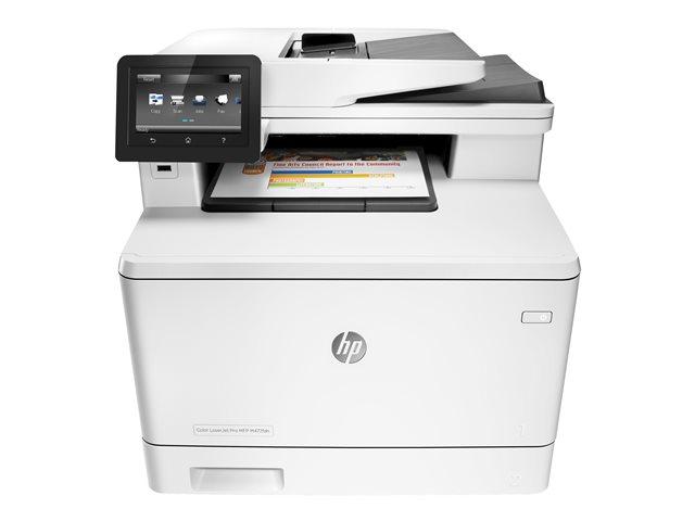Image of HP Color LaserJet Pro MFP M477fdn - multifunction printer ( colour )