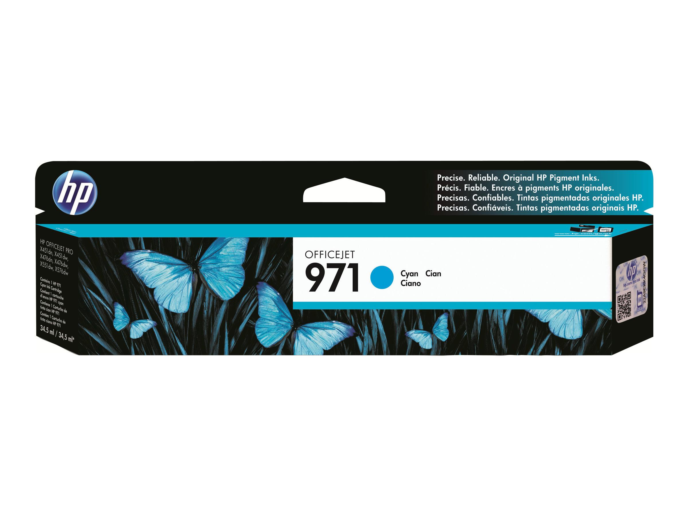HP 971 - magenta - originale - cartouche d'encre