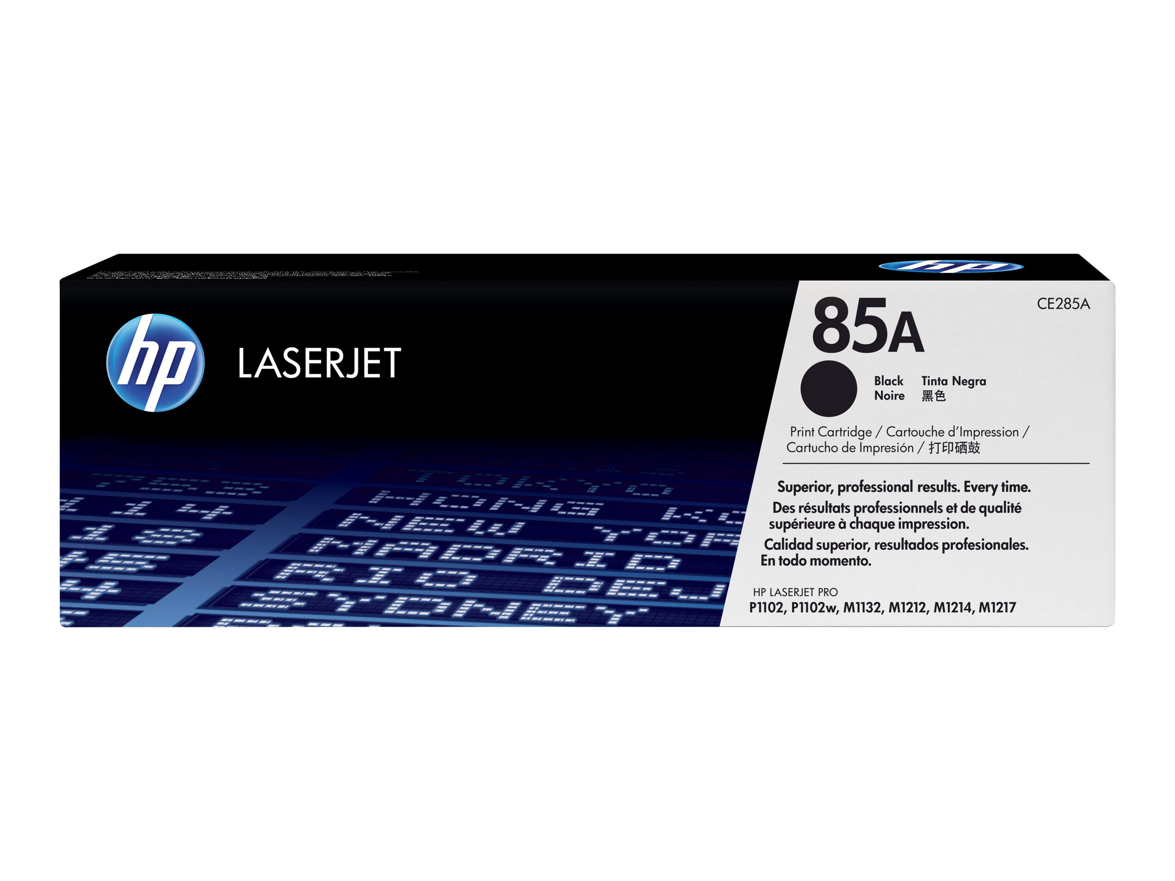 HP 85A NEGRO ORIGINAL LASERJET CARTUCHO DE TONER C