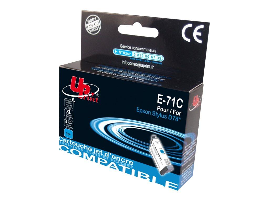 UPrint E-71C - taille XL - cyan - remanufacturé - cartouche d'encre (équivalent à : Epson T0892, Epson T0712)