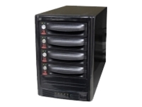 CRU 4 Bay Dual Port SAS Enclosure with DataPort 10
