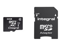 Integral UltimaPro - carte mémoire flash - 64 Go - microSDXC