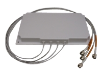 Cisco Aironet 2.4-GHz/5-GHz MIMO 4-Element Patch Antenna - antenne