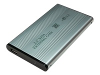 "LogiLink Enclosure 2,5 inch S-ATA HDD USB 2.0 Alu Lagringspakning 2.5"""