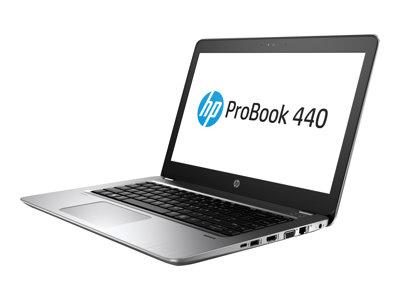 "HP ProBook 440 G4 - Core i5 7300U / 2.6 GHz - Win 10 Pro 64-bit - 8 GB RAM - 256 GB SSD - 14"" 1366 x 768 (HD) - HD Graphics 620 - Wi-Fi, Bluetooth - asteroid silver - kbd: US - with HP Elite Support"