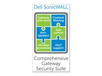 Dell SonicWALL Comprehensive Gateway Security Suite Bundle for SonicWALL NSA 250M Series