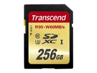 TRANSCEND, Memory Card 256GB SDXC