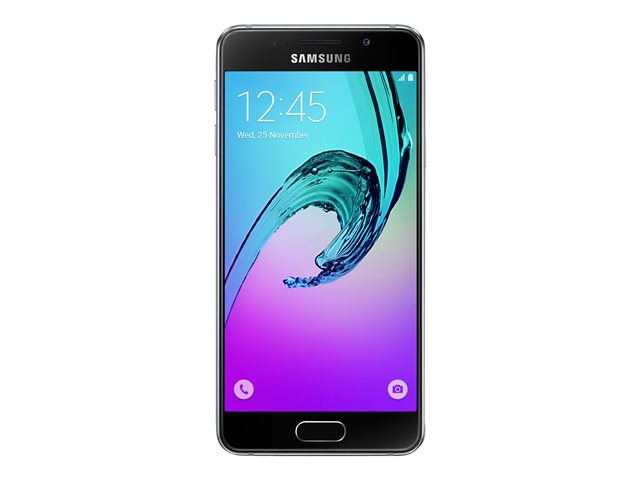 Image of Samsung Galaxy A3 (2016) - SM-A310F - black - 4G HSPA+ - 16 GB - GSM - Android smartphone