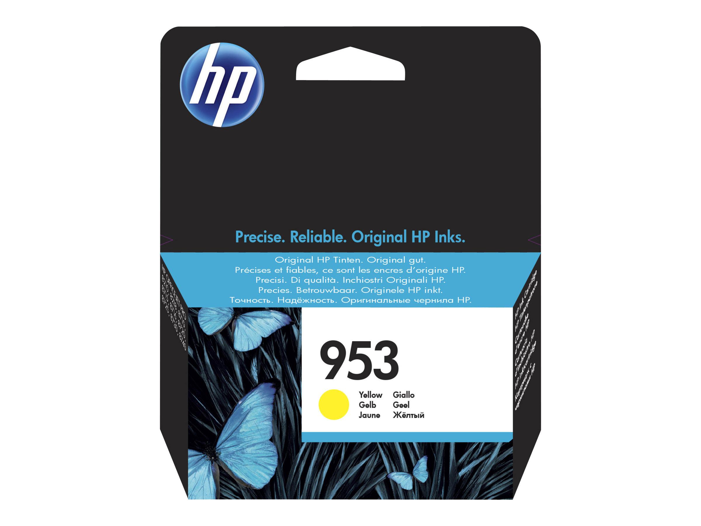 HP 953 - jaune - originale - cartouche d'encre
