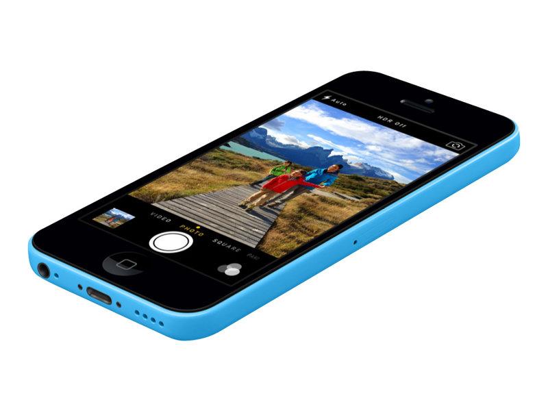 apple iphone 5c bleu 4g lte 16 go gsm smartphone. Black Bedroom Furniture Sets. Home Design Ideas