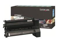 LEXMARK, Toner/black 10000sh f Optra C770 C772