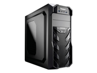 Enermax Thorex ECA3321A-BT (2U3) Miditower ATX sort USB/Lyd