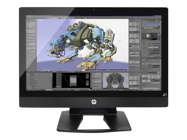 HP Workstation Z1 G2 - Xeon E3-1226V3 3.3 GHz - 8 GB - 256 GB - LED 27