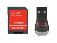 Sandisk MobileMate Duo Kortlæser ( microSD, MS Micro, microSDHC )