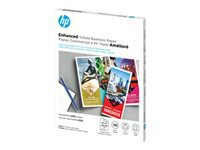HP - Glossy - 6 mil - bright white - Letter A Size (8.5 in x 11 in) - 150 g/m² - 40 lbs - 150 sheet(s) tri-fold brochure paper - for Color LaserJet Pro M254, MFP M180, MFP M281; LaserJet Pro M104, MFP M132, MFP M427