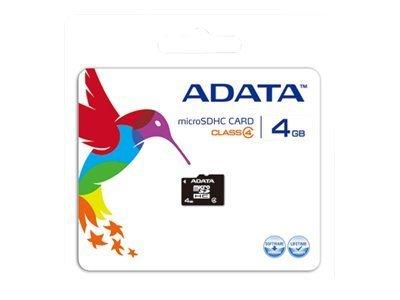 Tarjeta microSDHC 4GB Adata