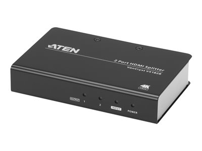 ATEN VanCryst VS182B - Video/audio splitter - 2 x HDMI - desktop