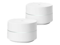 Google Wifi Wi-Fi-system (2 routere) mesh GigE 802.11a/b/g/n/ac