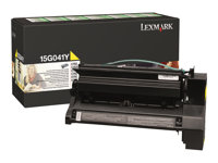 15G041Y, Toner, yellow, pro C752/C76x, return, 6 000 str