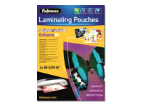Fellowes Laminating Pouches SuperQuick Enhance 80 micron 80 micron