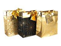Clairefontaine Premium - Sac cadeau - 12 cm x 4.5 cm x 13.5 cm - fin d'année