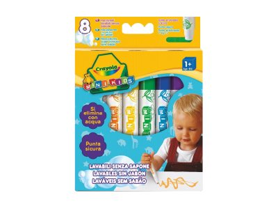 Crayola Mini Kids - Feutres - Pointe large