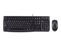 Logitech Desktop MK120 - Keyboard and mouse set - USB