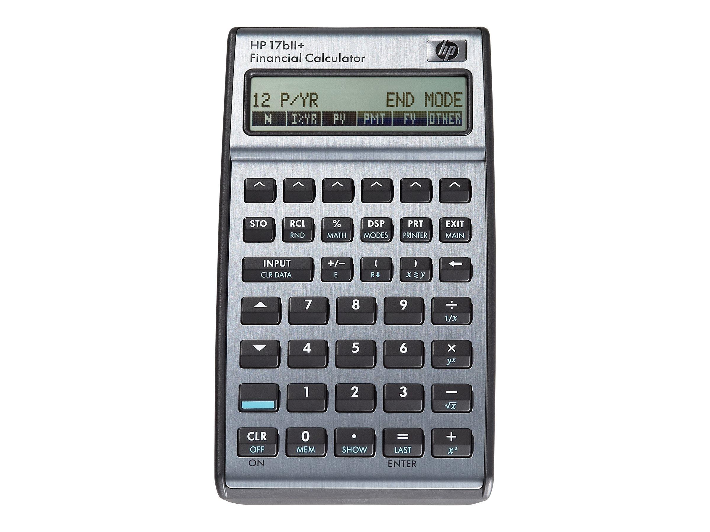 HP 17bII+ - financial calculator - F2234A#ABA | howardstore.com
