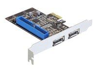 Delock PCI Express Card > 2 x external e, Delock PCI Express Car