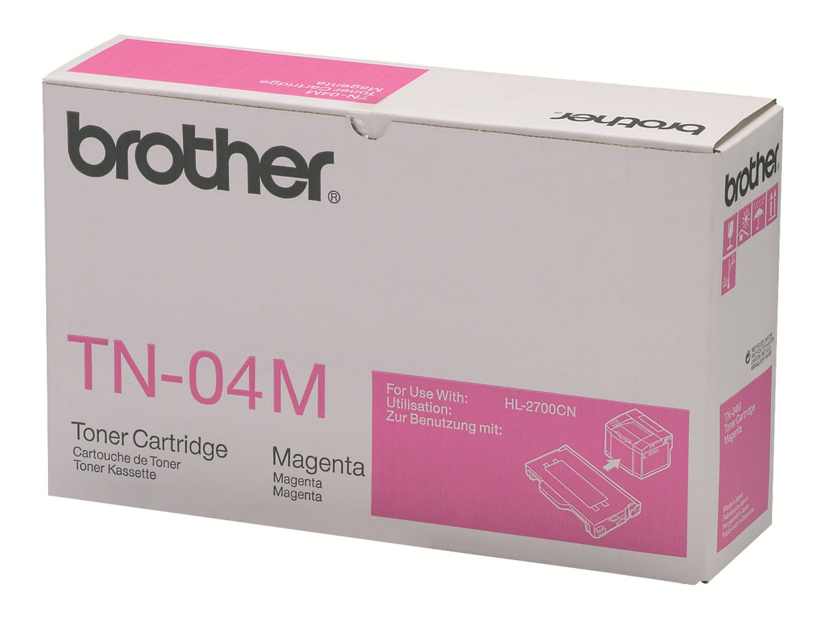 Brother TN04M - magenta - originale - cartouche de toner