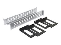 APC - Rack rail kit - gray