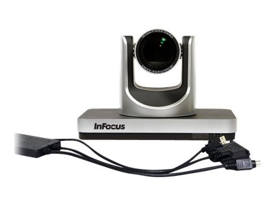 InFocus RealCam INF-SPTZ-2 - Videoconferencing camera - PTZ - barevný - 2,1 MP - 1920 x 1080 - DVI, HD-SDI - USB 2.0 - DC 12 V
