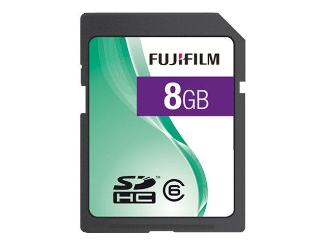 FUJIFILM   flash memory card   8 GB   SDHC