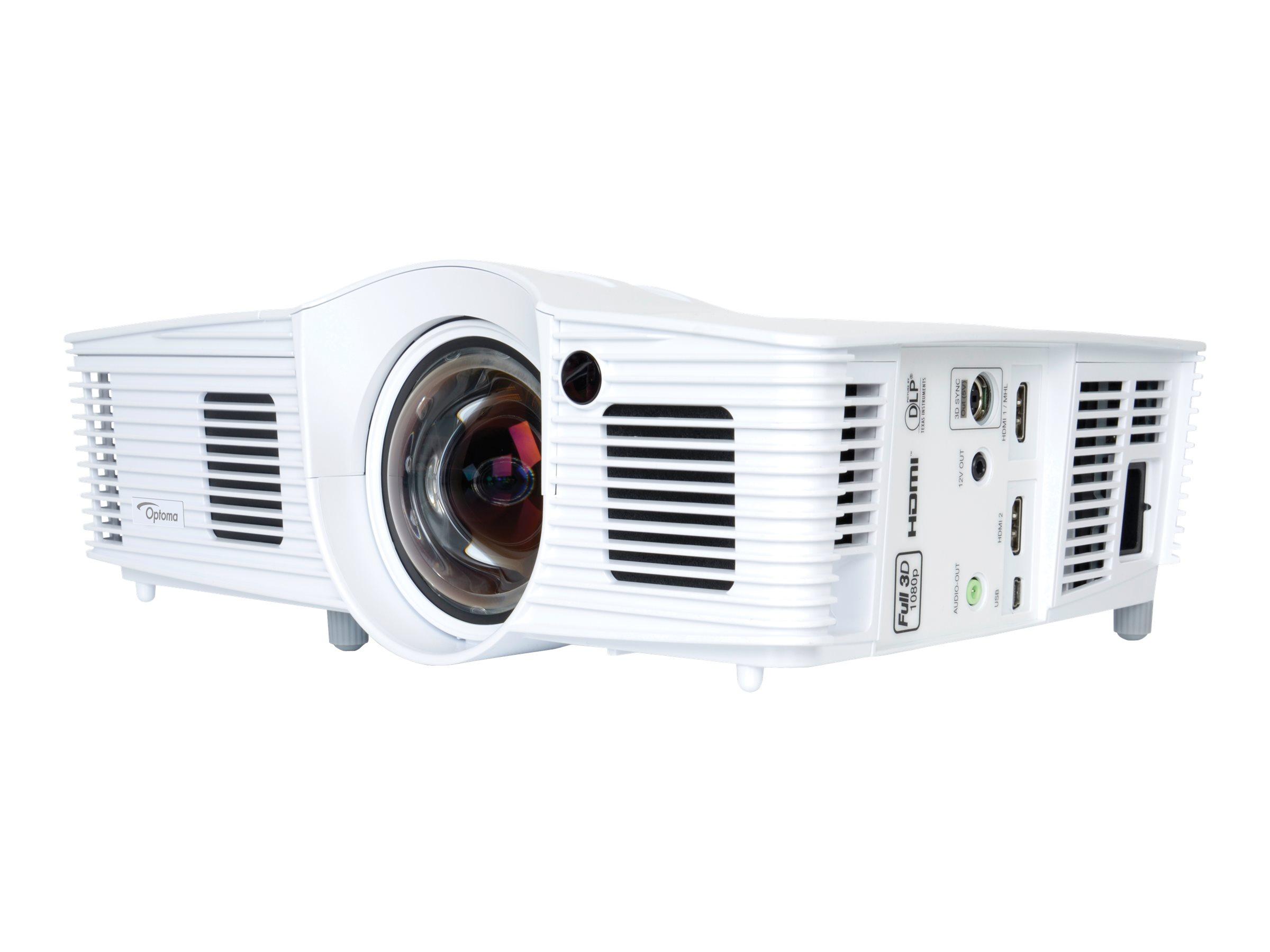 Dcs Kort Kast Projektor Optoma Gt1070xe Dlp Projektor