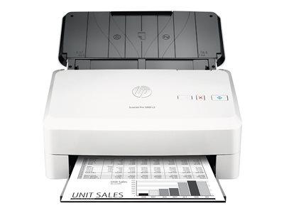 HP Scanjet Pro 3000 s3 Sheet-feed - Skener dokumentů - Duplex - 216 x 3100 mm - 600 dpi x 600 dpi - až 35 stran za min. (ČB) - ADF (50 listy) - až 3500 skenů denně - USB 3.0, USB 2.0