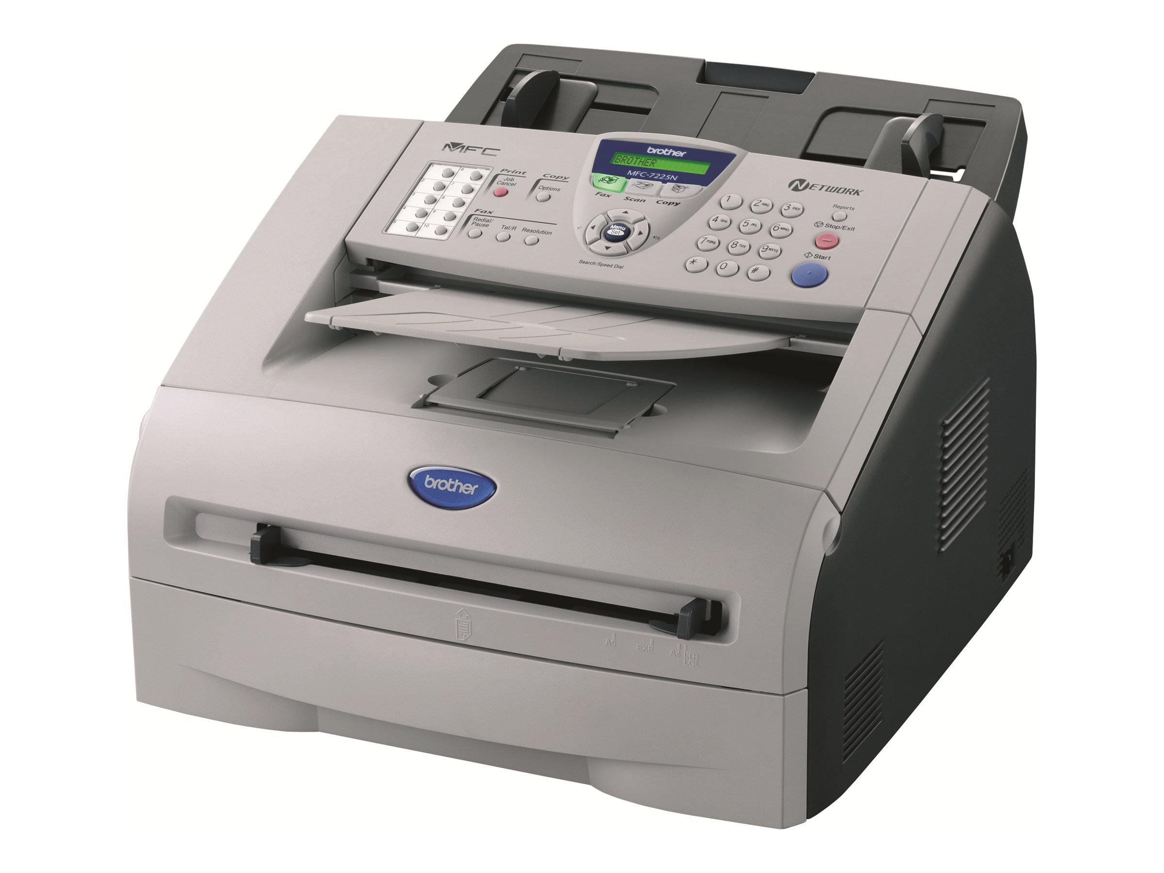 Brother MFC-7225n - imprimante multifonctions (Noir et blanc)